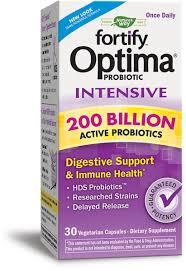 <b>Fortify</b>™ <b>Optima</b>® Intensive 200 Billion <b>Probiotic</b> - Nature's Way®.