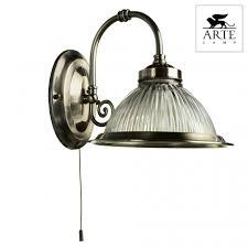 <b>Бра Arte Lamp American</b> Diner A9366AP-1AB по цене 3450 руб ...