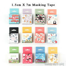 <b>Cartoons</b>, TV & Movie Characters Multi-Colored <b>Washi</b> Tape for sale ...