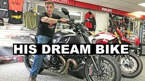 Found My Dad's Dream Bike - <b>Ducati Diavel</b> Carbon - YouTube