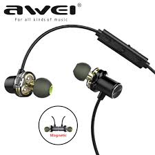 Awei <b>X680BL Sports Bluetooth</b> V4.2 Stereo Music <b>Earphone</b> ...
