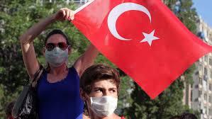 Risultati immagini per turkey protest woman