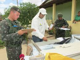Resultado de imagem para militares contra Aedes