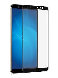 <b>Защитное стекло</b> Palmexx для Samsung Galaxy A6 5D Black PX ...