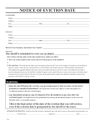 eviction notice template examples shopgrat general eviction notice template examples