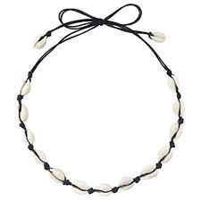 CUSVUEVI Women's Natural Shell Choker Necklace ... - Amazon.com