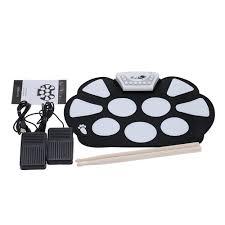 Новый профессиональный Roll up Drum Pad комплект кремния ...