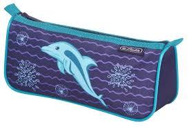 <b>Herlitz Пенал-косметичка Sport</b> Dolphin (50021222-4) — купить по ...