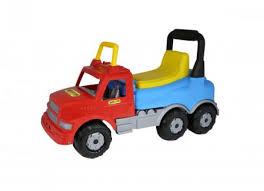 <b>Каталка</b> Полесье Автомобиль Буран №2 красно-голубая 43801 ...