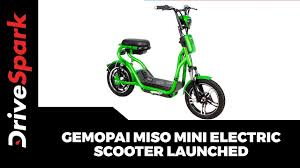 Gemopai Miso <b>Mini Electric Scooter</b> Launched | Details | Prices ...