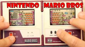 <b>Retro Classic</b> Nintendo Game and <b>Watch</b> - Mario Bros - YouTube