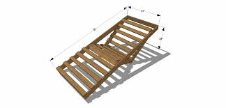 free diy furniture plans how to build an indoor outdoor single dimensions for futon affordable affordable chaise indoor