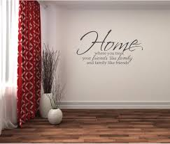 <b>Wall Sticker Family Quote</b> - Home, Friends, <b>Family</b> - Wall Decor ...