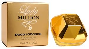<b>Парфюмерная вода</b> Paco Rabanne <b>Lady</b> Million — купить по ...