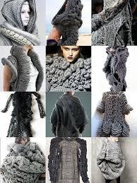 wearable art- gray | Knitting, Knitting designs, Knitwear fashion