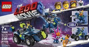 <b>LEGO The LEGO Movie</b> 2 Rex's Rex-treme Offroader! <b>70826</b>   Toys ...