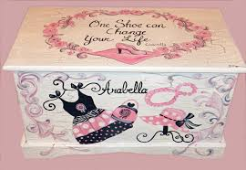 bathroom decor pink glamour glamour girl shabby chic toy chest custom designed done with monogram