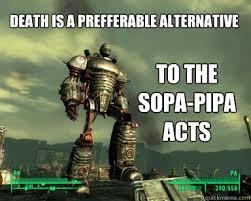 SOPA PIPA Acts Liberty Prime memes | quickmeme via Relatably.com
