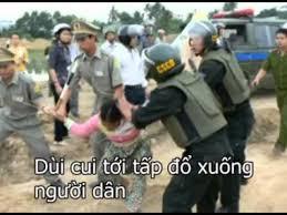 Image result for hình ảnh công an nhân dân đàn áp dã man người dân