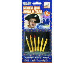 <b>Fancy Creative Мелки для</b> лица и тела (6 цв.) 22 г - Акушерство.Ru