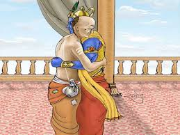 Image result for images of krishna balarama and sudama
