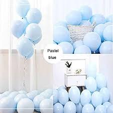 "Party Pastel Balloons <b>100 Pcs</b> 10"" <b>Macaron</b> Candy <b>Colored</b> Latex ..."