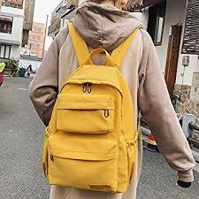 Alliana Women Backpack Multi-Pocket Large <b>Capacity</b> Waterproof ...