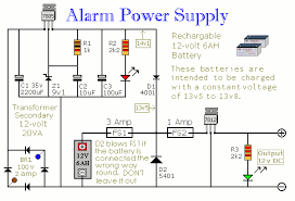 build this simple power supply for your intruder alarm projecta schematic diagram of an uninterruptible burglar alarm power supply unit