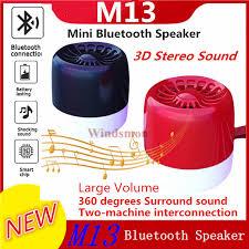2019 <b>Bluetooth</b> 5.0 <b>M13 Bluetooth</b> Speaker Outdoor Smart Mini TWS ...