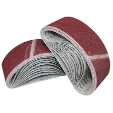1/<b>3pcs</b> Set Sanding Belts 75x533 Mm Mixed Grade 40 60 <b>80</b> 120 ...