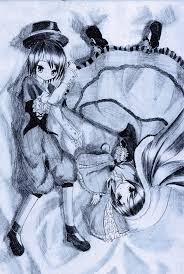 <b>Rozen Maiden</b> - Suiseiseki and <b>Souseiseki</b> by Kudo008 on DeviantArt