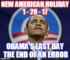 Image result for obama end of an error
