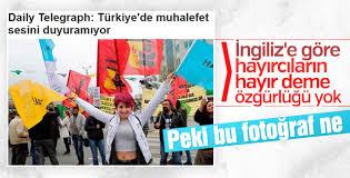 Telegraph'a göre Türkiye'de muhalefet bastırılıyor