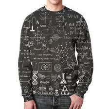 Толстовки, кружки, чехлы, футболки с принтом физика, а также ...