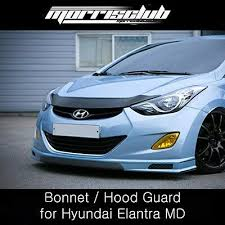 Morris Club <b>Bonnet</b> / <b>Hood Guard</b> for Hyundai Elantra (Avante MD ...