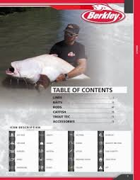 TABLE OF CONTENTS - <b>Fishing</b> Service