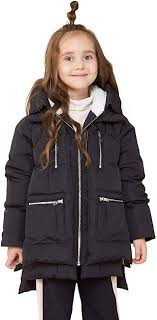 Orolay Children Hooded Down Coat Girls Quilted ... - Amazon.com