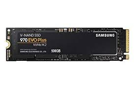 Samsung 970 EVO Plus Series - 500GB PCIe NVMe - M.2 <b>Internal</b> ...