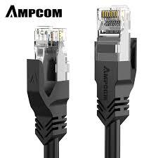 <b>AMPCOM</b> Ethernet Cable RJ45 Cat5e Lan Cable UTP CAT 5e RJ ...