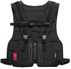 Tenrry <b>Multi</b>-<b>Function</b> Vest <b>Outdoor Sports</b> Fitness <b>Men</b> Protective Tops