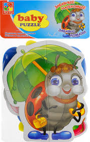<b>Vladi Toys</b> Мягкие пазлы Baby puzzle Насекомые VT1106-06, код ...