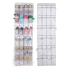 New <b>24 grid Storage bag</b> Toys Slipper shoes Storage Mesh cloth ...