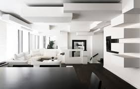 design black and white home interior black white interior design