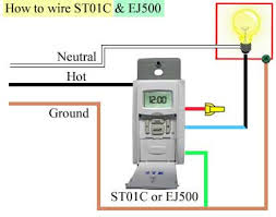 daylight switch wiring diagram daylight image how to program and install st01c timer on daylight switch wiring diagram
