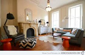 eclectic living room furniture photo