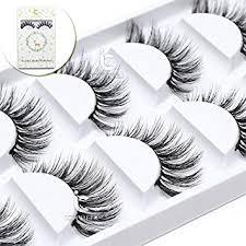 ICYCHEER <b>5 Pairs</b>/Lot Makeup <b>3D Mink</b> Eyelashes Set Fake False ...