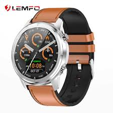 LEMFO 2019 <b>New</b> ECG + <b>PPG Smart Watch</b> Men IP67 Waterproof ...