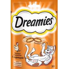 """Отзывы о <b>Лакомство</b> """"<b>Dreamies</b>"""" для взрослых <b>кошек</b>"""