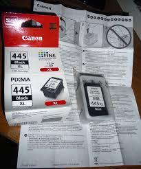 Обзор от покупателя на <b>Картридж Canon PG-445</b> XL черный ...