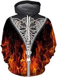Sumtory Women <b>Halloween Theme</b> Skeleton <b>Print</b> Long Sleeve ...